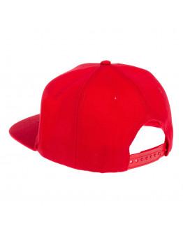 Бейсболка червона