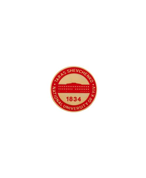 Пін-значок лого КНУ