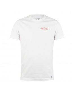 Біла футболка з маленьким КНУ