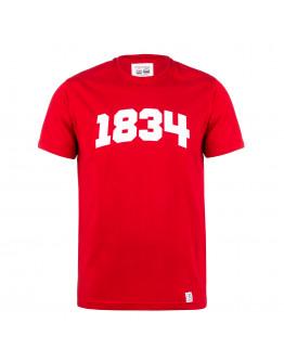 Червона футболка 1834