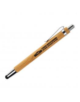Бамбукова ручка з лого КНУ